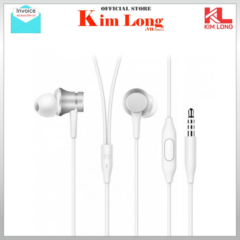 [Nhập ELAPR21 giảm 10% tối đa 200k đơn từ 99k]XIAOMI Earphones Basic Tai nghe nhét tai có Mic - Bảo hành chính hãng