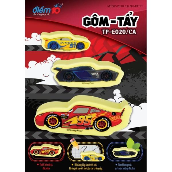 Mua Gôm/tẩy 3d nhân vật car Disney TP-E020/ca (vỉ 1 cục) cam kết hàng đúng mô tả chất lượng đảm bảo không chứa hóa chất độc hại an toàn cho trẻ em