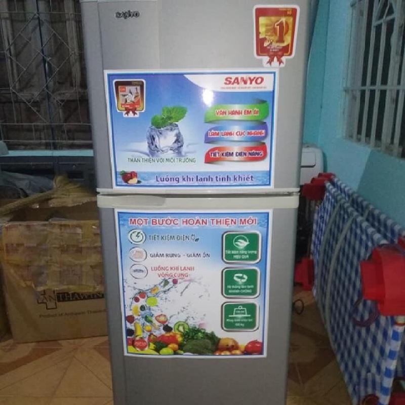 Tủ lạnh sanyo 160l làm đá làm mát cực nhanh
