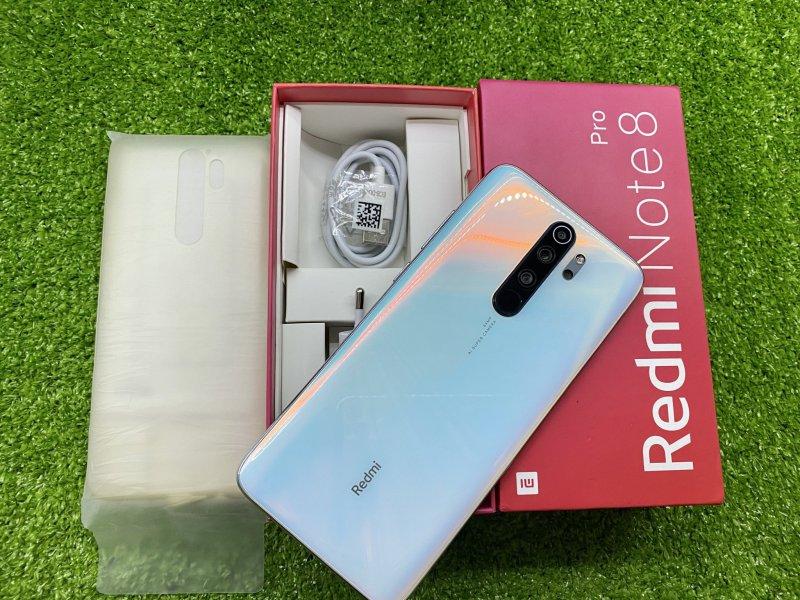 Điện thoại Xiaomi Redmi Note 8 Pro (64GB-128GB) Pin 4500mAh | Cụm Camera 64 MP + 8 MP + 2 MP + 2 MP | Chip MediaTek Helio G90T