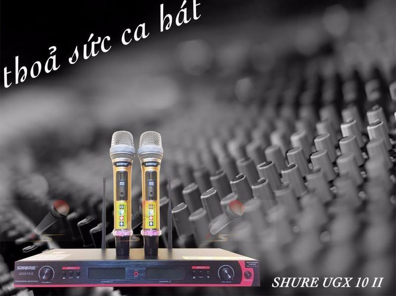 Mic không dây Shure UGX10ii
