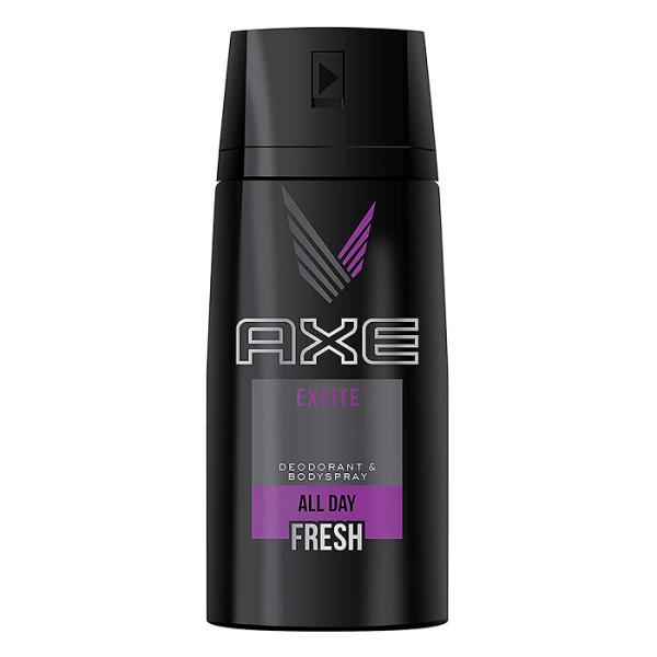 Xịt khử mùi toàn thân nam Axe 150ml - Excite