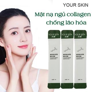 [Giá dùng thử] 5 gói Mặt nạ dưỡng da YOUR SKIN mặt nạ ngủ collagen dưỡng ẩm chống lão hóa làm sáng da mặt nạ ngủ cấp ẩm mặt nạ nội địa Trung mặt nạ ngủ dưỡng trắng IW-MN303 thumbnail
