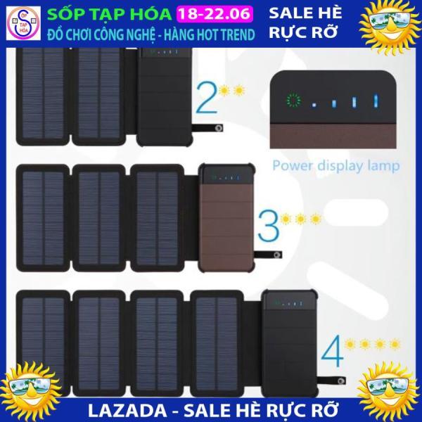 Pin năng lượng mặt trời (4 tấm) + Pin dự phòng tiện lợi vô cùng