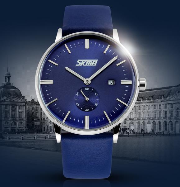 Nơi bán iWATCH-Đồng hồ nam kim rốn lịch ngày Skmei IW-SK9083