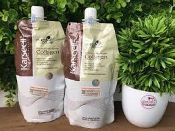 Kem Hấp Tóc Collagen Karseell Maca Dạng Túi 500ML giá rẻ