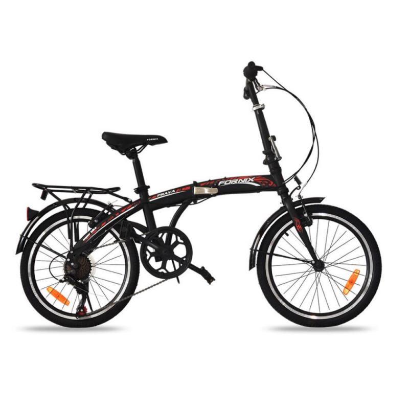 Phân phối Xe đạp gấp Prava màu đen lôi cuốn