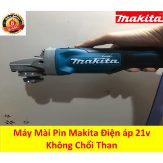Máy mài góc chạy pin Makita điện áp 21v, dung lượng 5.0Ah- Máy mài góc 2 pin không chổi than thumbnail