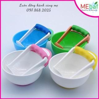 Bộ bát nghiền thức ăn cho bé, MEBAF thumbnail