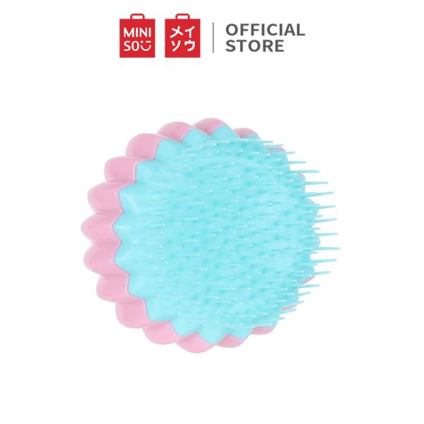 Lược chải tóc Miniso hình bông hoa (Giao màu ngẫu nhiên) - Hàng chính hãng nhập khẩu