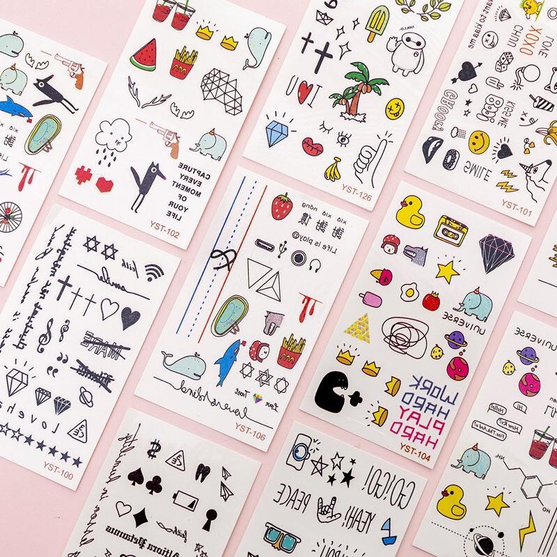 Mã Giảm Giá Bộ 10 Tờ Anime Hình Dán, Tatto Cao Cấp