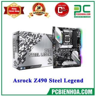 Mainboard Asrock Z490 Steel Legend ( LGA1200 ATX 4xDDR4 ) thumbnail