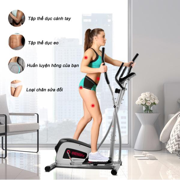 OneTwoFit máy tập nam châm xe đạp tập aerobic tại nhà tập aerobic giảm cân OT111