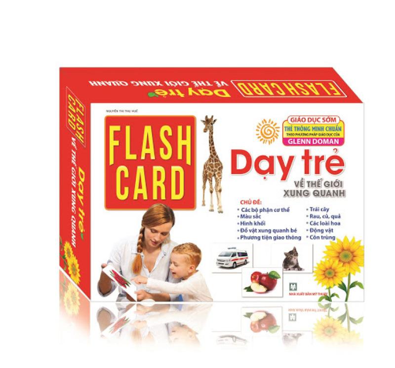 Mua Thẻ học Flashcard- Thế Giới Xung Quanh- 10 Chủ Đề