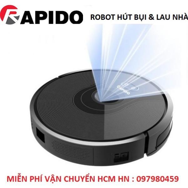 Robot hút bụi và lau nhà Rapido RR6, hàng