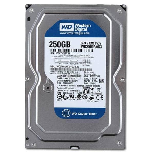 Giá Ổ cứng WD  250GB Nhập khẩu