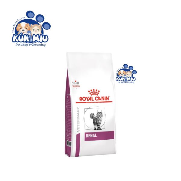 Thức Ăn Hỗ Trợ Chức Năng Thận Cho Mèo Royal Canin Renal Feline 2Kg