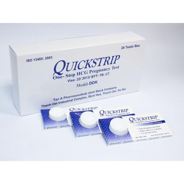 Que thử thai quickstrip lẻ