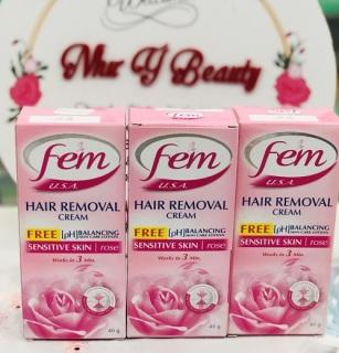 Kem Tẩy Lông Fem Hair Removal Cream 40g Thái Lan thumbnail