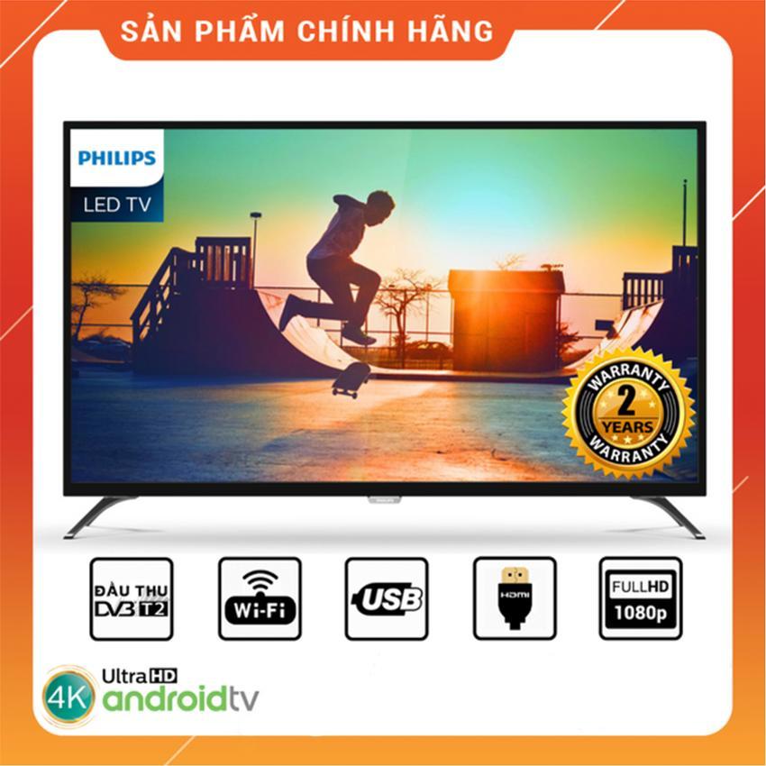 Bảng giá Smart Tivi Philips 43 inch Full HD - Model 43PFT6110S/67 Tích hợp DVB-T2, Wifi