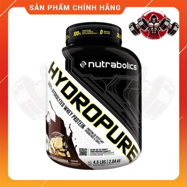 WHEY PROTEIN - NUTRABOLICS - HYDROPURE - 4.5lbs - Bổ sung protein tăng cơ giảm mỡ - Từ USA
