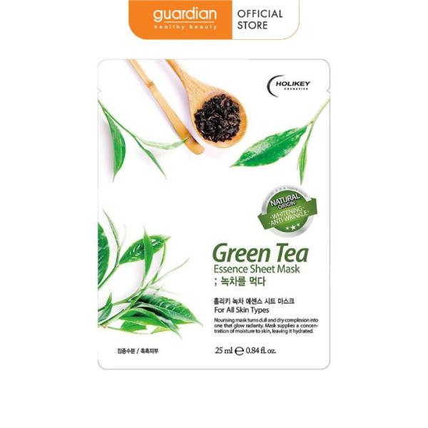 Mặt Nạ Tinh Chất Trà Xanh Holikey Green Tea Essence Sheet Mask 25ml giá rẻ