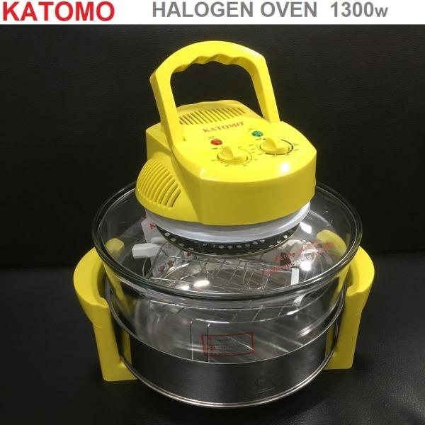 Lò nướng thuỷ tinh halogen Katomo KA 6109H 1300w