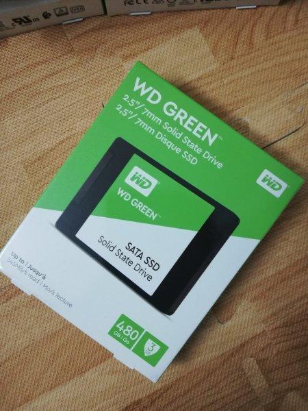 Giá Ổ cứng SSD 480GB WD Green, cực bền, cực tốt
