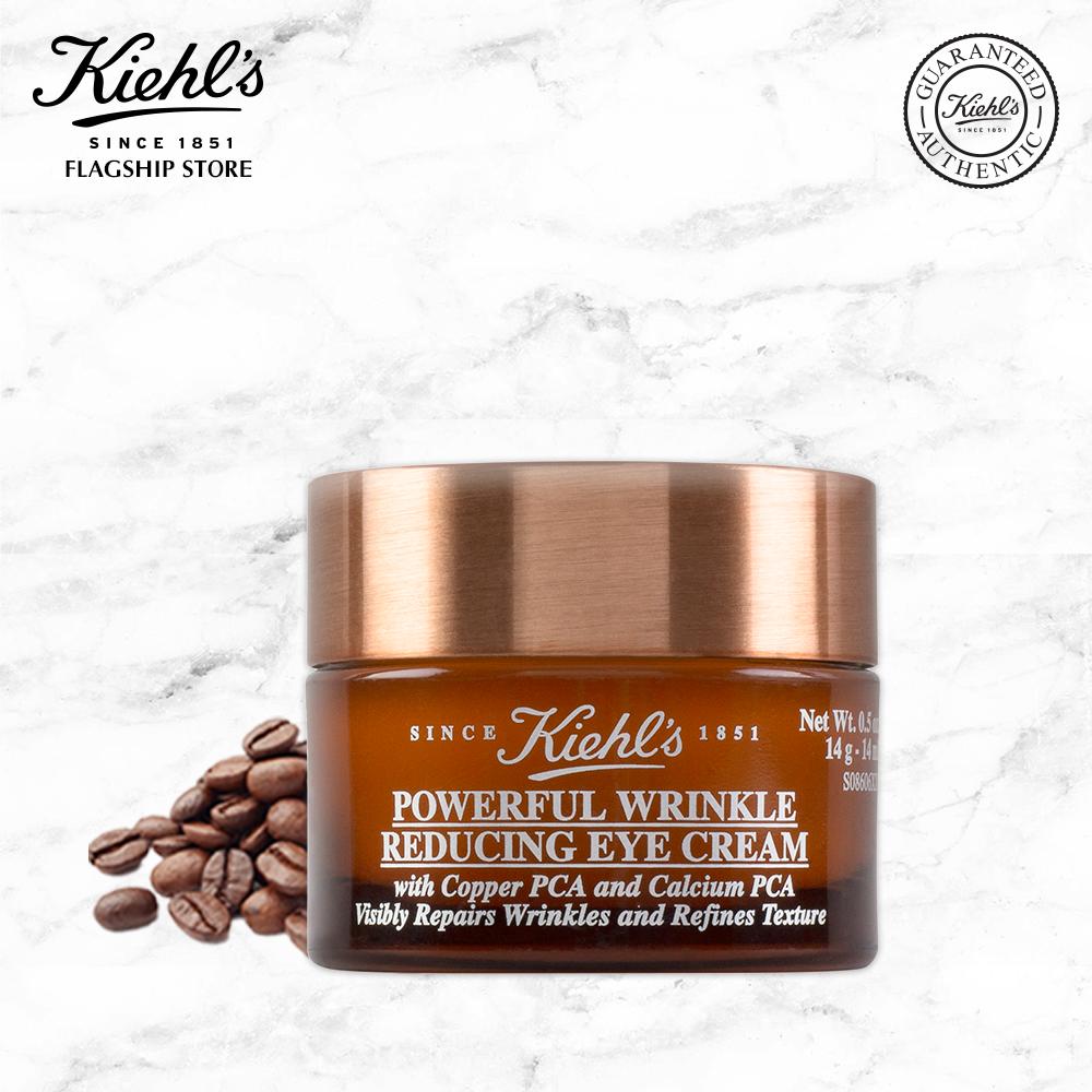 Kem Dưỡng Mắt Giảm Nếp Nhăn Kiehl's Powerful Wrinkle Reducing Eye Cream 14g