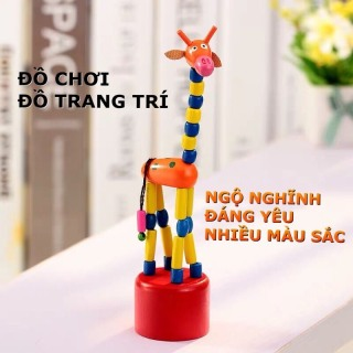 Đồ chơi trẻ em hươu thay đổi tư thế giúp trẻ giải trí, kích thích phát triển trí não, làm đồ chơi trang trí nhà cửa góc học tập cho mọi lứa tuổi thumbnail