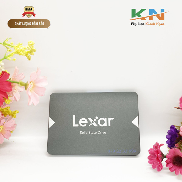 Bảng giá Ổ cứng SSD Lexar 128gb, với hiệu suất được cải thiện và tốc độ đọc lên đến 550MB / s *, nó sẽ giúp cho máy tính khởi động, chuyển dữ liệu và tải ứng dụng một cách dễ dàng Phong Vũ