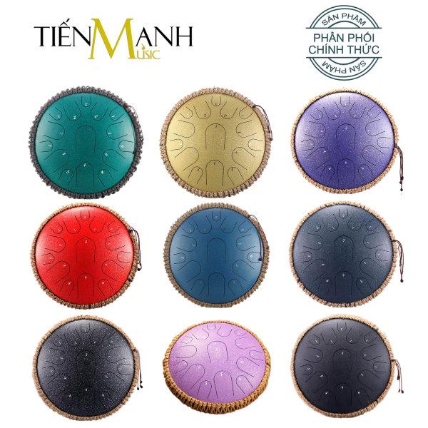 [Tone C] Trống Tank Hluru 15 Và 13 Tone TB13-15 và TS12-13 (Steel Tongue Drum Lưỡi Thép Không Linh)