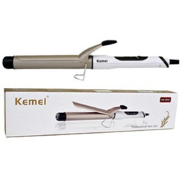 Máy uốn tóc đa năng Kemei-1001A uốn chuyên nghiệp, chuyên dùng uốn cong tóc hay uốn xoăn, uốn lọn, gợn sóng, uốn cụp đuôi thích hợp sử dụng gia đình và salon cao cấp