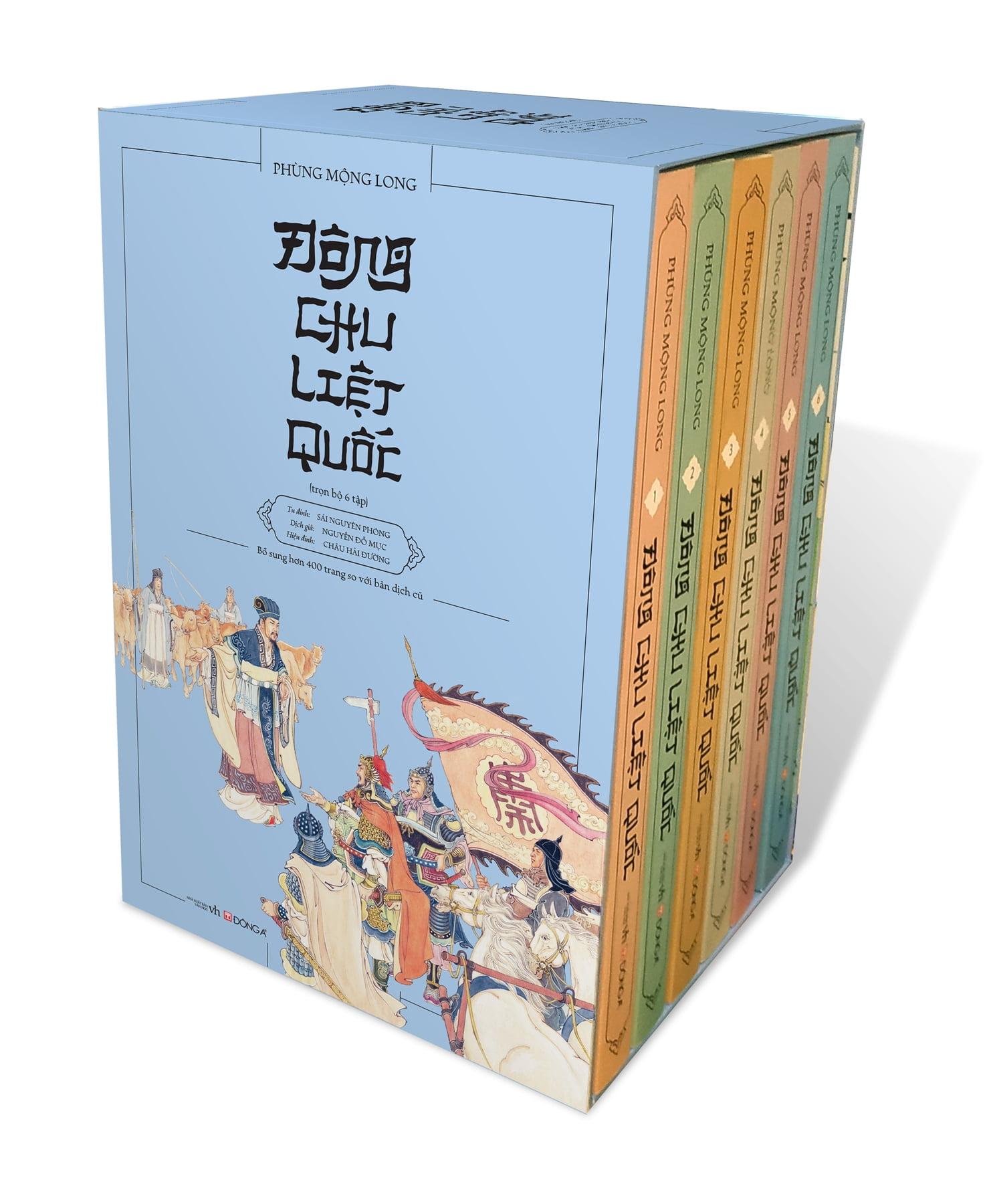 Fahasa - Đông Chu Liệt Quốc (Bộ 6 Tập - Kèm Hộp) Đang Trong Dịp Khuyến Mãi