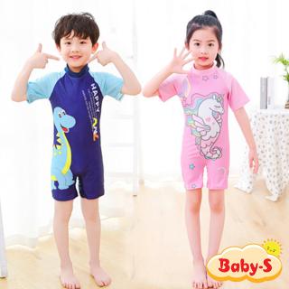 Đồ bơi liền thân cho bé trai và bé gái 5-10 tuổi họa tiết hoạt hình đáng yêu nhiều màu sắc Baby-S SDB013 thumbnail