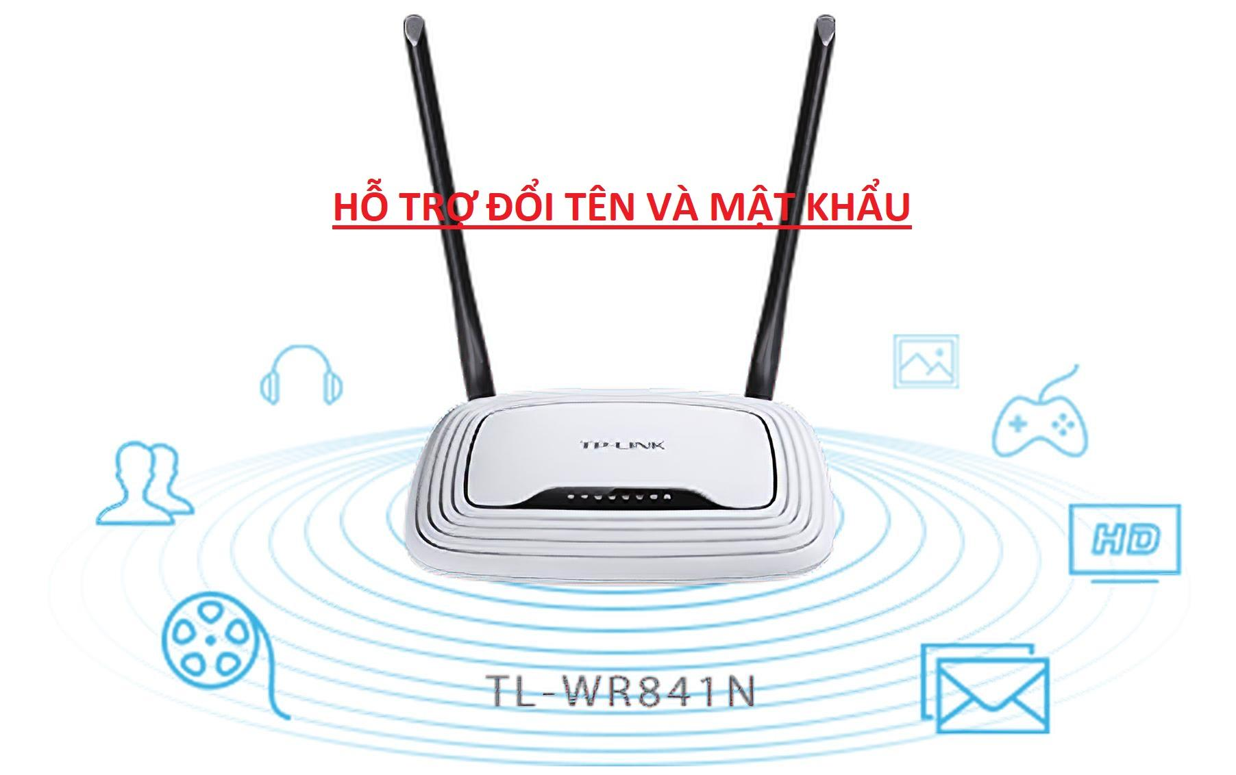 Giá Bộ Phát Wifi TP-LINK 841N có nguồn 2 ANTEN  Đã Qua SD - TPLINK 841N