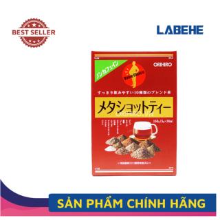 Trà giảm mỡ bụng Meta Shot Tea Orihiro 30 gói - Trà giảm cân mỡ bụng Nhật Bản thumbnail