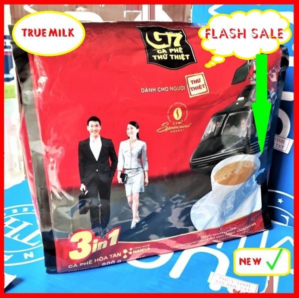 Cafe G7 3in1 50gói x 16g (Flash Sale) - cafe g7 50 gói - cafe g7 - ca phe hoa tan - ca phe pha san