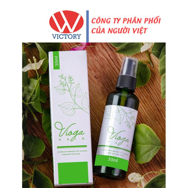 Chai xịt tóc Vioga Hair - Phục hồi, ngăn ngừa tóc xơ và rụng tóc – chai 30ml - Victory Pharmacy giá rẻ