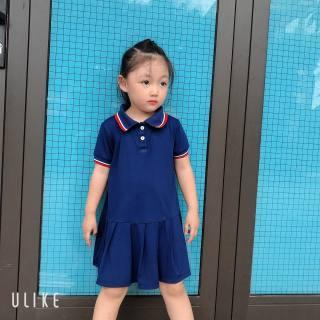 Thảo Nguyên Kids Váy Polo đuôi cá cộc tay cho bé gái, váy thể thao cho bé từ 1-5 tuổi