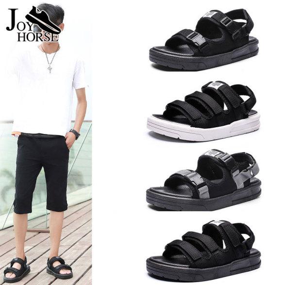 JOY Giày xăng đan nam cỡ lớn đế cao su có chức năng chống trượt phù hợp đi thường ngày và đi biển - INTL giá rẻ