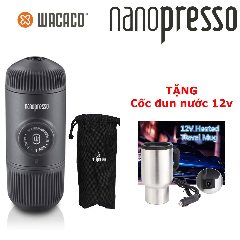 Quà Tặng Trị Giá 139K - Máy pha cà phê Espresso nén bằng tay đời mới Wacaco NanoPresso