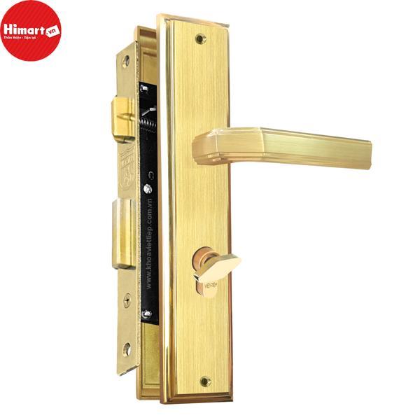 Khóa cửa gỗ thông phòng bằng Inox 304  Việt Tiệp 04315