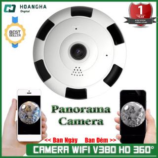 [ Kèm thẻ 128G-64G-32G ] Camera wifi V380 HD không dây góc rộng 360 cảm biến CMOS có tầm nhìn đêm cho gia đình - Camera wifi không dây camera góc rộng camera an ninh camera 360 độ thumbnail