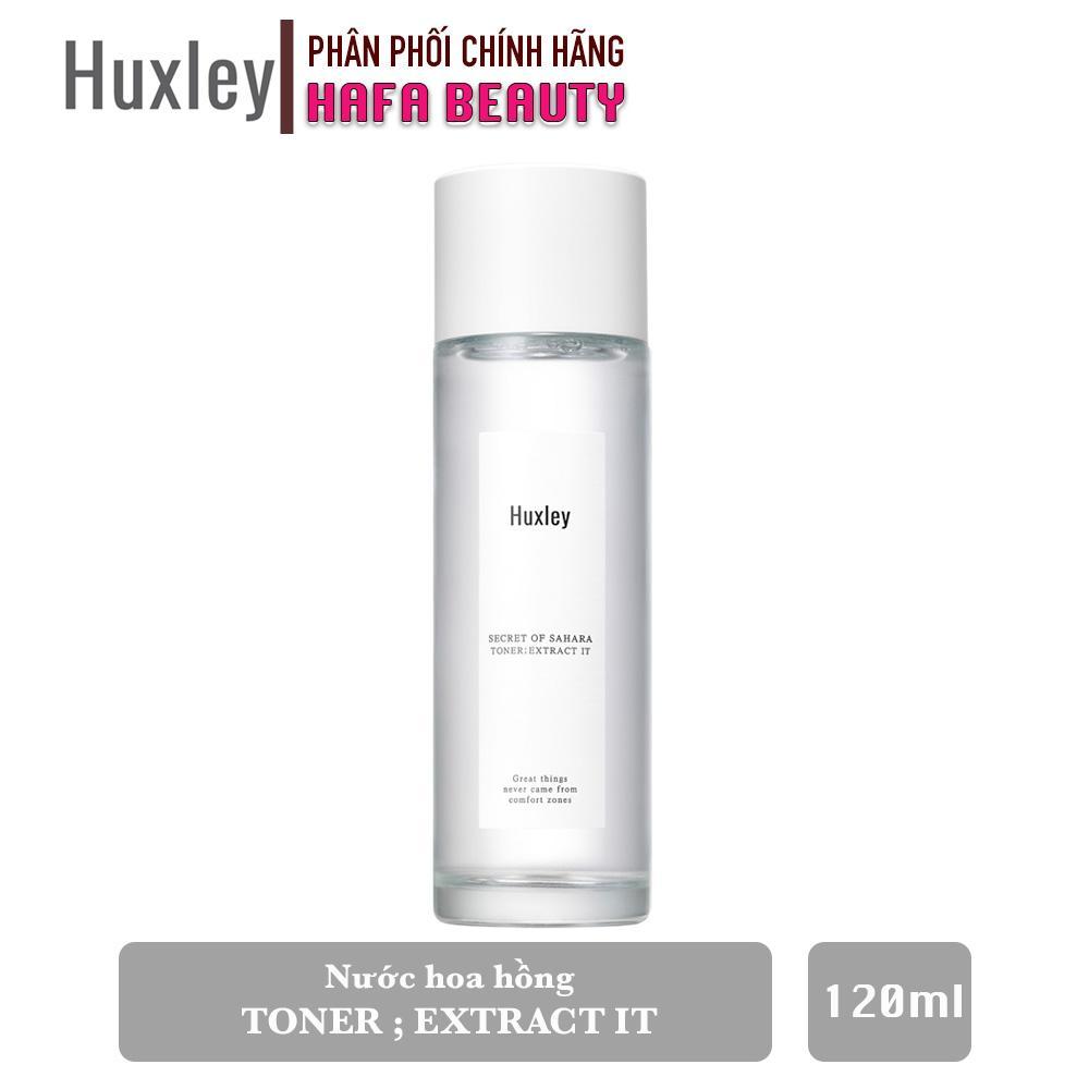Nước hoa hồng chiết xuất từ xương rồng Huxley Toner ; Extract It 120ml