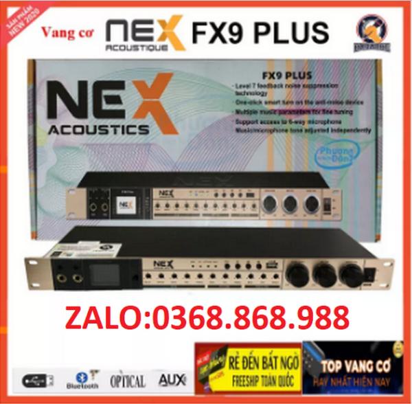 Vang NEX FX9 PLUS - Vang nhại siêu hay, chống hú, có blueooth, cổng quang, dễ chỉnh,111222333
