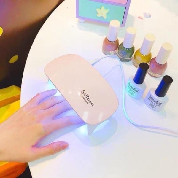 [ Deal sốc ] Máy hơ gel SUN MINI NAIL360 chuyên dùng cá nhân làm móng tay hơ sơn gel, base top gel, màu gels giá rẻ