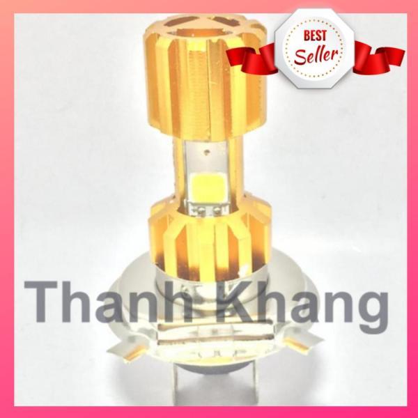 Đèn Fa led Thanh Khang 3 tim H4 space ship ánh sáng trắng cho xe máy 001000030