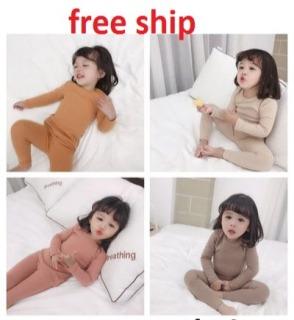 set bộ borip dài tay bé trai, bé gái vải borip dày dặn mềm mại 5-27kg thumbnail
