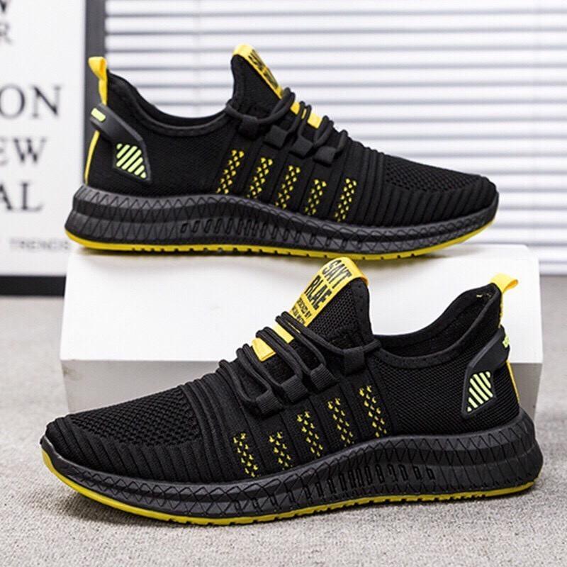 Giày thể thao nam sneaker Vải Sợi Thoáng Khí LEMA Store - GN58 giá rẻ